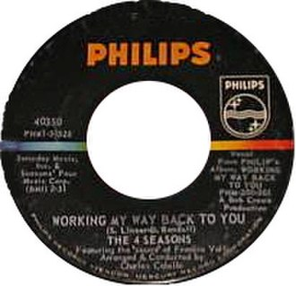 Working My Way Back to You - Image: Working My Way Back to You
