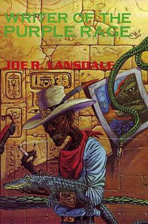<i>Writer of the Purple Rage</i> book by Joe R. Lansdale