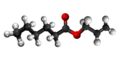 Allyl caproate3D.png