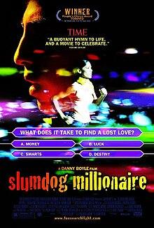 Afiŝo por Slumdog Millionnaire (2008)