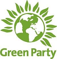Emblemo de Verda Partio de Anglio kaj Kimrio
