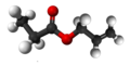 Allyl propionate3D.png