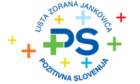 Emblemo de Listo Zoran Janković - Pozitiva Slovenio