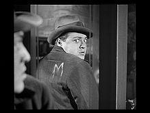 Aktoro Peter Lorre en M.