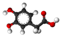 3,4-Dihydroxyphenylacetic acid 3D.png