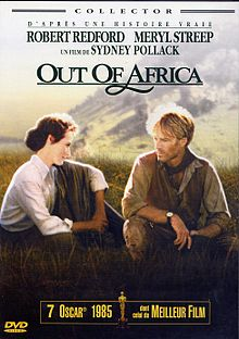 Out Of Africa (franca DVD)