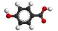 4-Hydroxybenzoic acid 3D.png