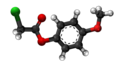 4-Methoxyphenyl chloroacetate 3D.png