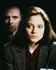 Anthony Hopkins kaj Jodie Foster