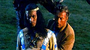 Old Shatterhand liberigas Winnetou-on
