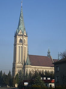 Wilamowice church.jpg
