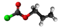 Allyl chloroformate 3D.png