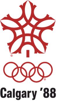 Emblemo de la Vintra Olimpiko 1988.png