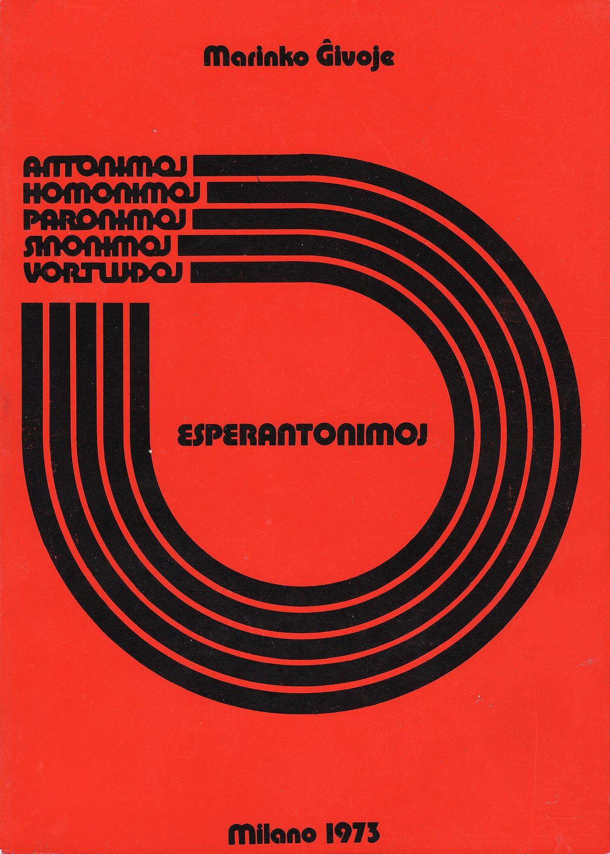esperantonimoj vikipedio
