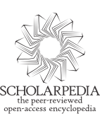 Official logo of Scholarpedia