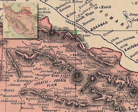 فیروزه (ترکمنستان)