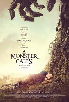A Monster Calls poster.jpg پیشنویس خودکار معرفی فیلم؛ يک هیولا صدا می زند A Monster Calls poster