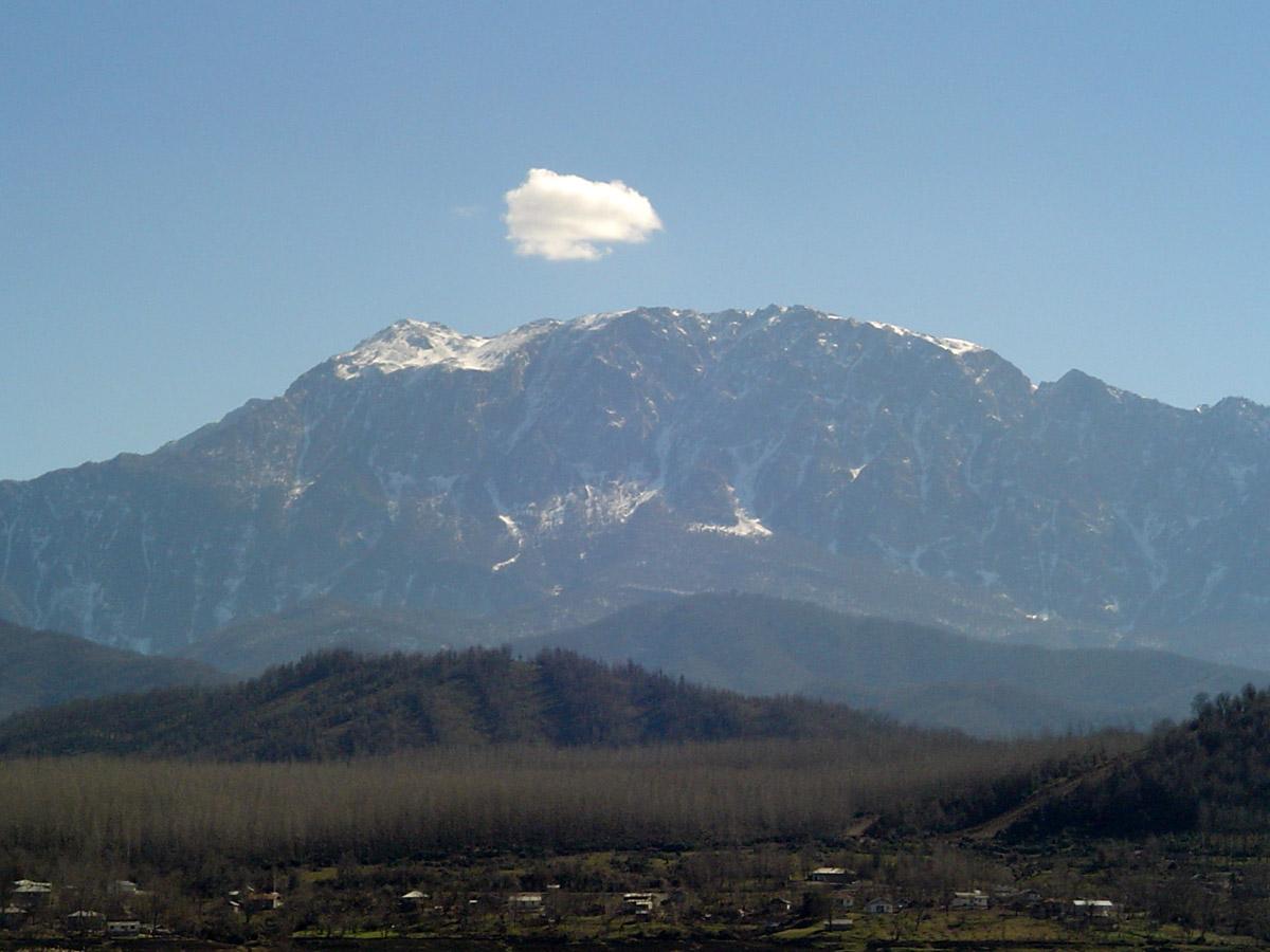 عکس کوه درفک