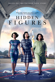 The official poster for the film Hidden Figures, 2016.jpg