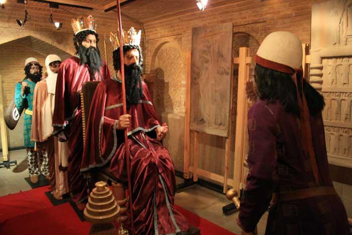 مجلس بارعام داریوش اول / موزه خانه زینت الملوك شیراز