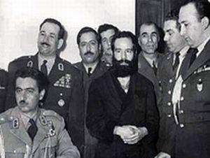 حسین فاطمی پس از دستگیری