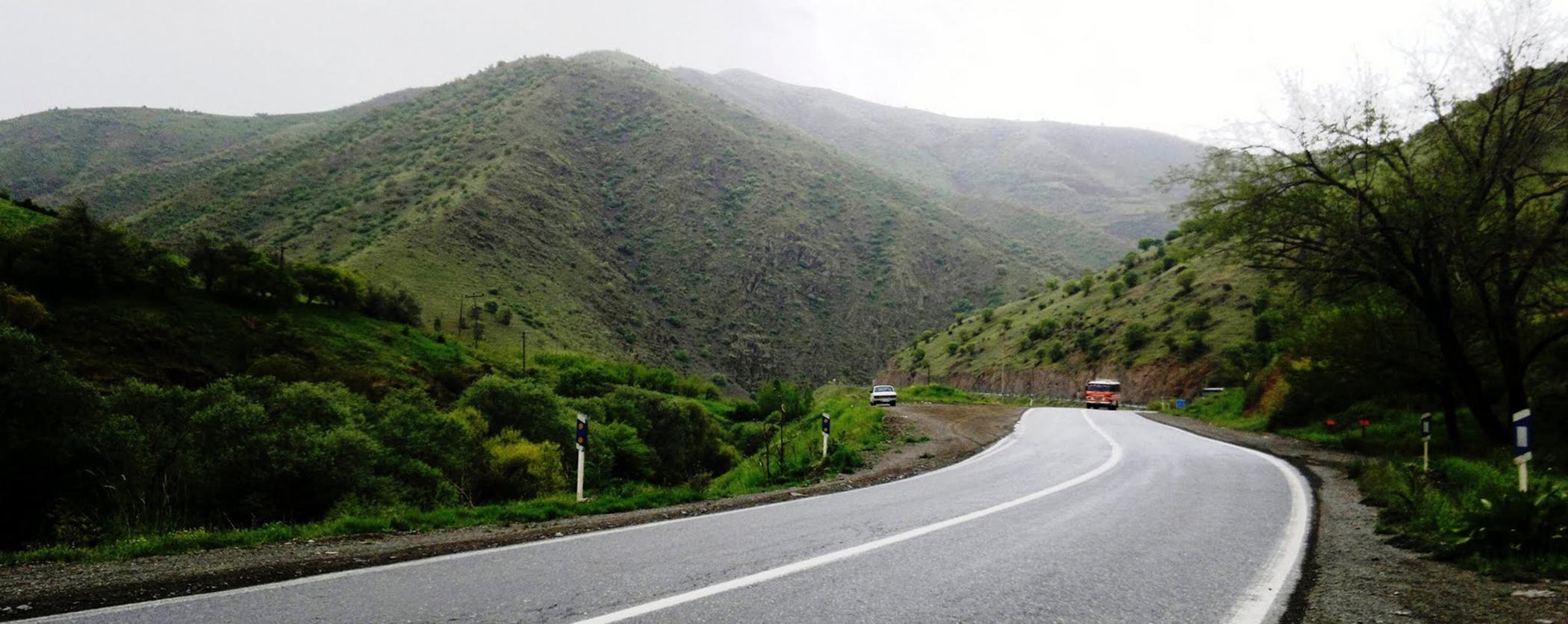 طريق مريوان - سقز