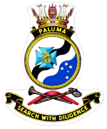 HMAS Paluma - Ship's Badge