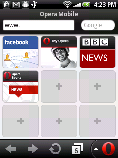 Screenshot of Opera Mobile 11 for Android.png