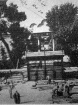 آرامگاه حافظیه. 1305 خورشیدی