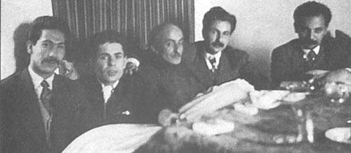 اابتهاج,کسرایی,نیما یوشیج و مرتضی کیوان