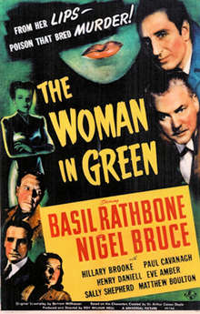 The Woman in Green - 1945 - Poster.png