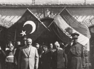 رضا شاه و آتاترك