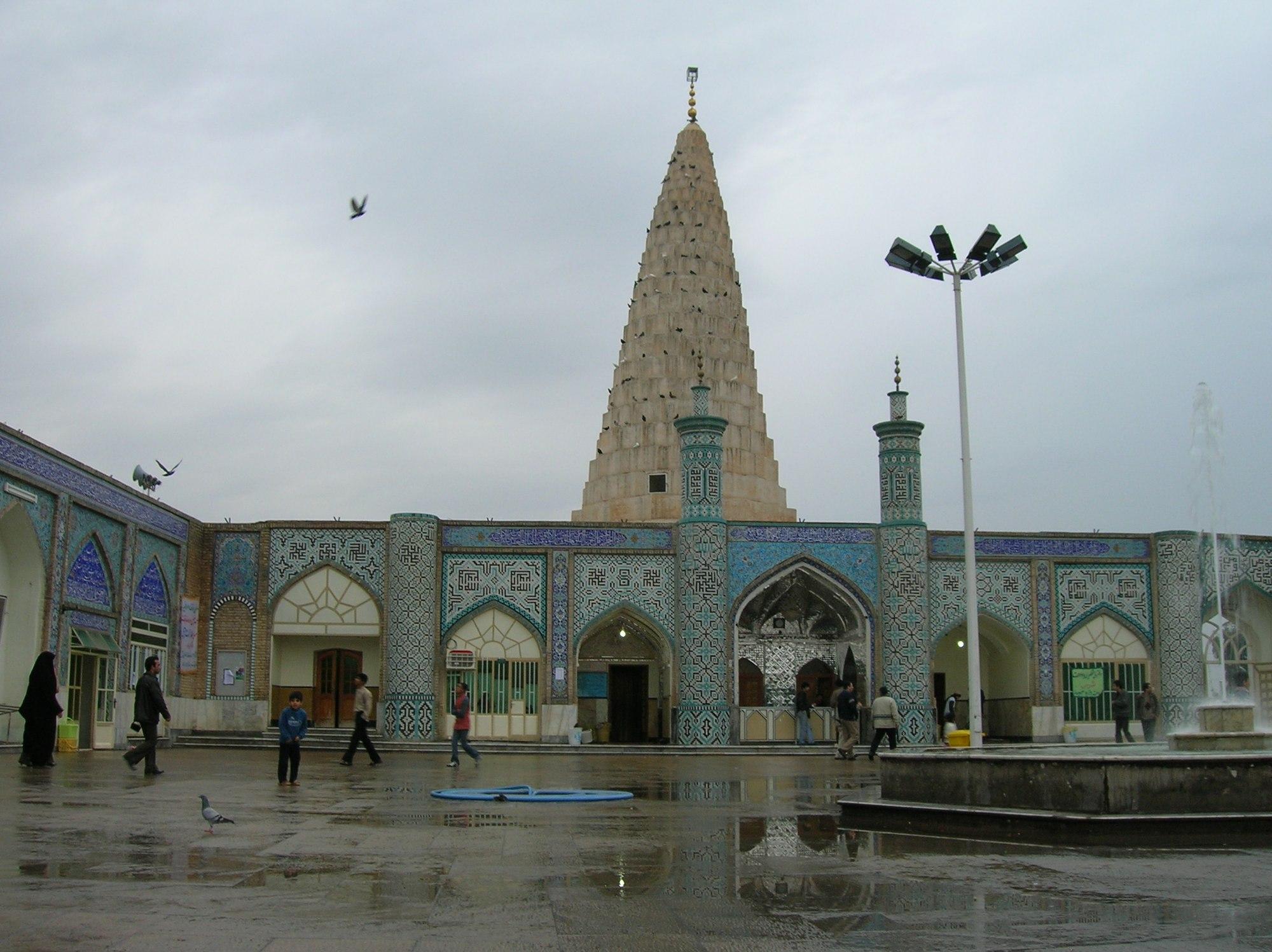 فهرست پیامبران مدفون در ایران