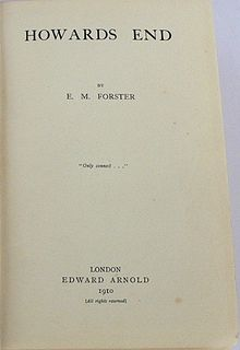 Howards End title page 1910 first edition.jpg