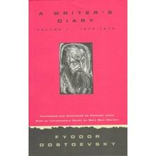 Cover art to an English translation of A Writer's Diary by Fyodor Dostoyevsky