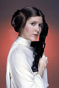 Princess Leia's characteristic hairstyle.jpg