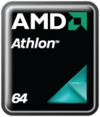 Athlon 64 logo as of 2008