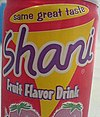 Can of Shani in Kuwait