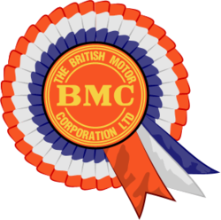 The BMC 'rosette' logo.