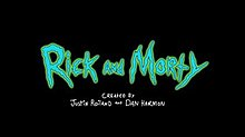 Promotional art for the animated television series Rick and Morty.