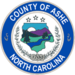 Seal of Ashe County, North Carolina