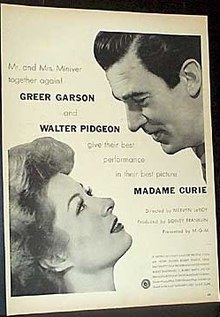 Madame Curie (film) poster.jpg