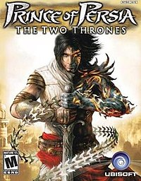 NTSC cover of Prince of Persia: The Two Thrones