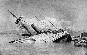 HMS Phoenix (1895) sunk at Hong Kong.jpg