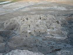 قلعه کافرها واقع در کوه خواجه
