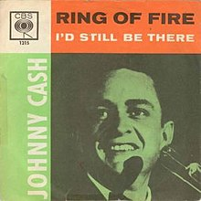 Ring of Fire (Johnny Cash song) 1963 release.jpg