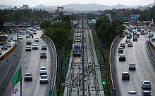 راه اندازی اولین خط lrt در تهران مشهد - ویکیپدیا، دانشنامهٔ آزاد
