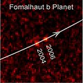 Fomalhaut with Disk Ring and extrasolar planet b cropped.jpg