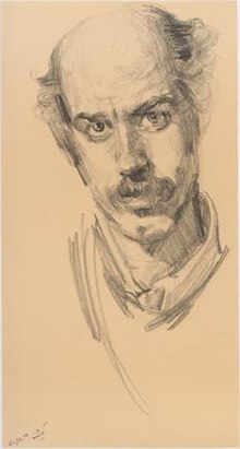 Self-portrait by Mohammad Reza Irani.jpg