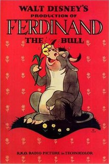 Poster for Ferdinand the Bull